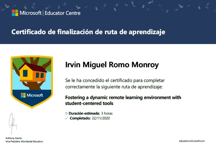 Fostering a dynamic remotelearning environment with
